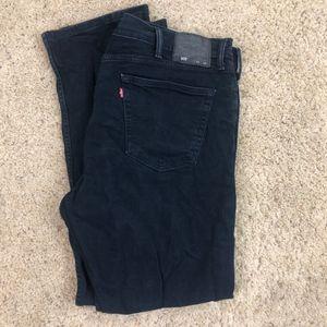 Levi Men's 505 Regular Fit Jeans 42x32